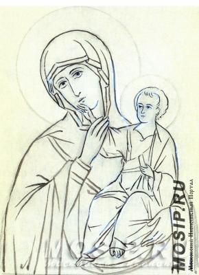 Образ Пресвятой Богородицы Отрада и Утешение