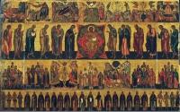 ДЕНЬ ВСЕХ СВЯТЫХ: ИСТОРИЯ, БОГОСЛУЖЕНИЕ,ИКОНЫ, ПРОПОВЕДИ