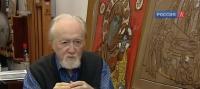 Художник-реставратор Адольф Овчинников. Секреты мастерства (ВИДЕО)