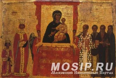 Почитание старинных икон в Пустозёрской волости Мценского уезда
