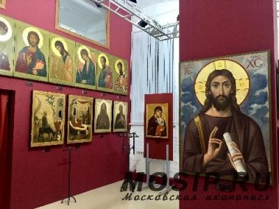В Москве открылась выставка современной иконы из собрания Валаамского монастыря
