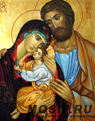 Икона Святое Семейство значение, в чем помогает
