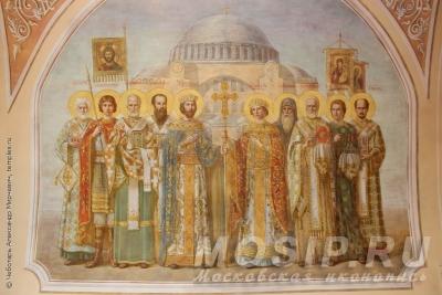 Московская школа иконописи - многоликий гений народной традиции.